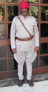 Jodhpurs on doorman