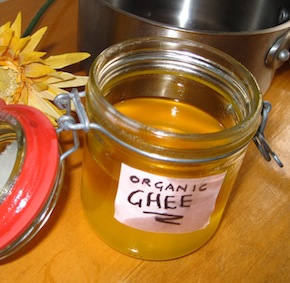Organic Ghee in Jar