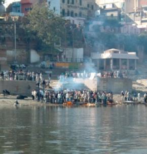 Varanasi cremation