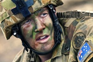 sad soldier - developmental trauma may lead to ptsd